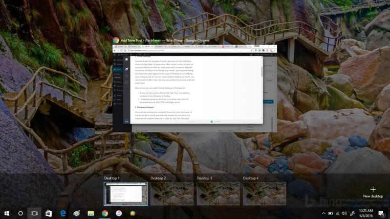 enable virtual desktop in windows 10 hidden features