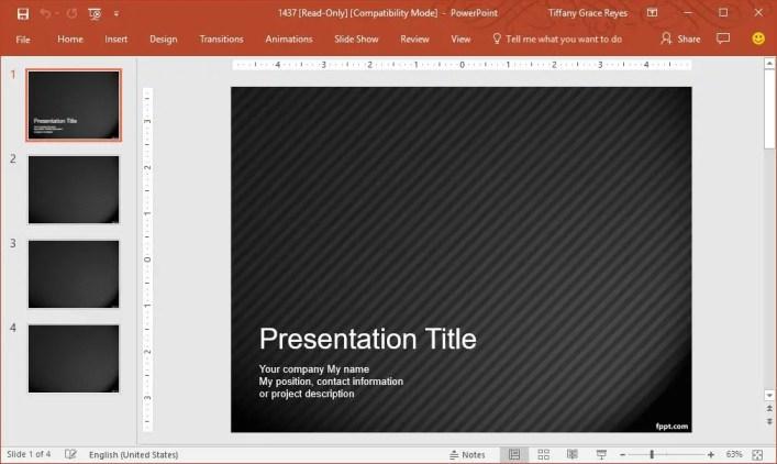 pinstripe-pattern-powerpoint-template