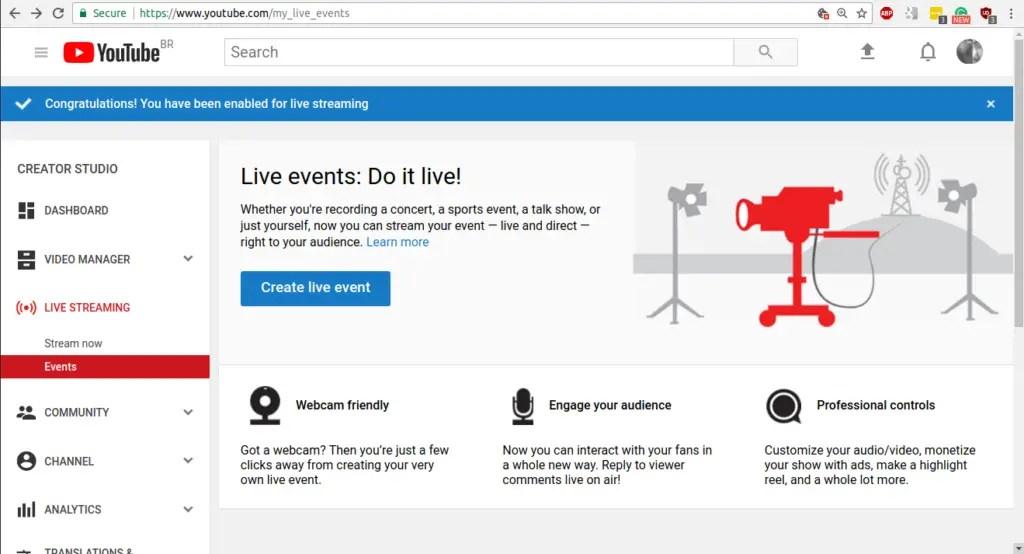 live stream computer screen