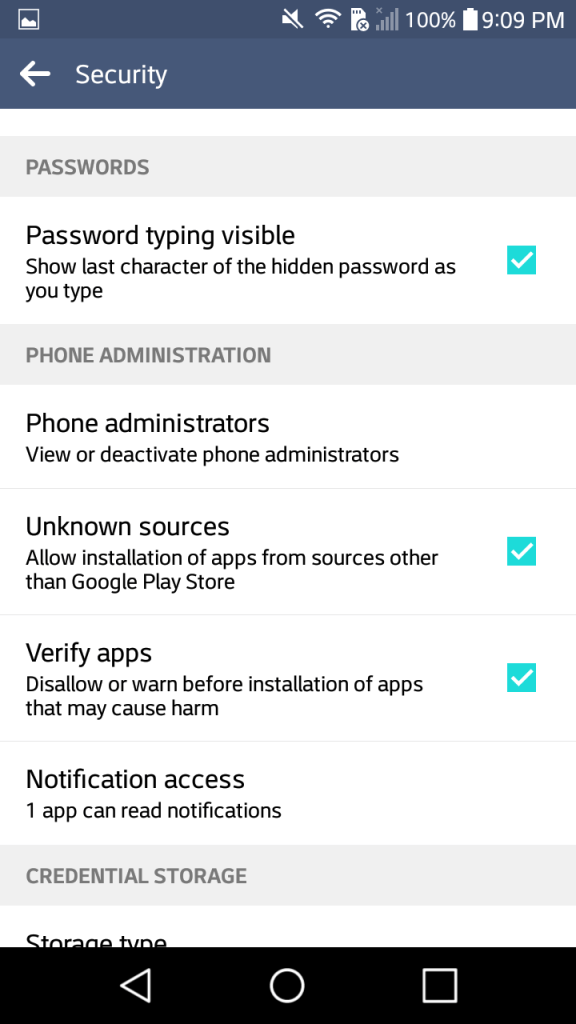 android security tips, two-factor authentication, unroot android, android system update, block ad-tracking