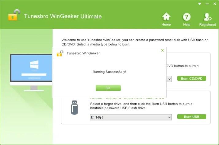 tunebro wingeeker password reset