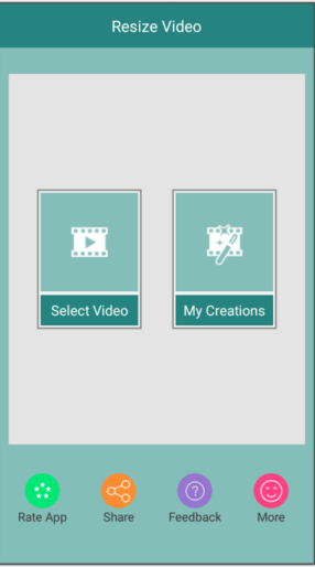 resize video app android