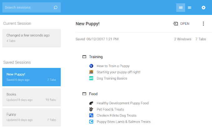 session buddy chrome extension for productivity
