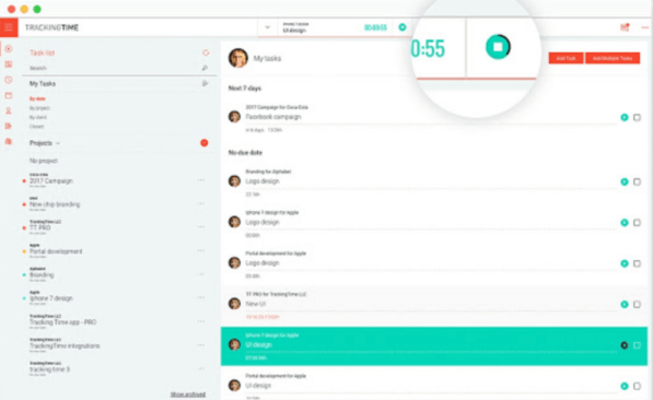 time tracker chrome extension for productivity