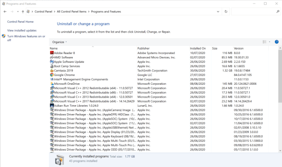 remove office to fix Couldn't Start Office Installation