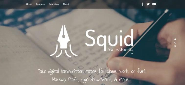 squid note app