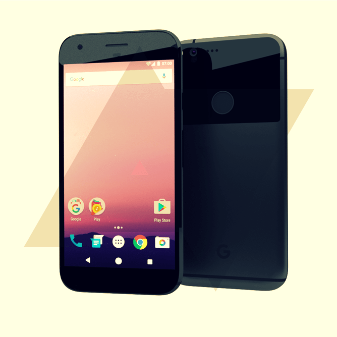 Nexus 2016 HTC Marlin and Sailfish Design