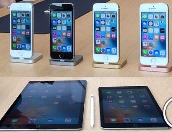 Hands-On - iPhone SE iPad Pro