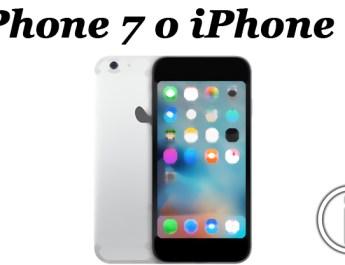 iPhone 7 - iPhone 6
