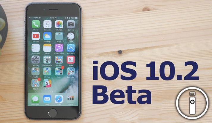 iOS 10.2 in arrivo!