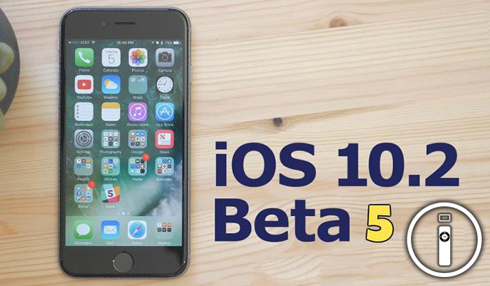 Apple: Rilasciato iOS 10.2 Beta 5 a tutti