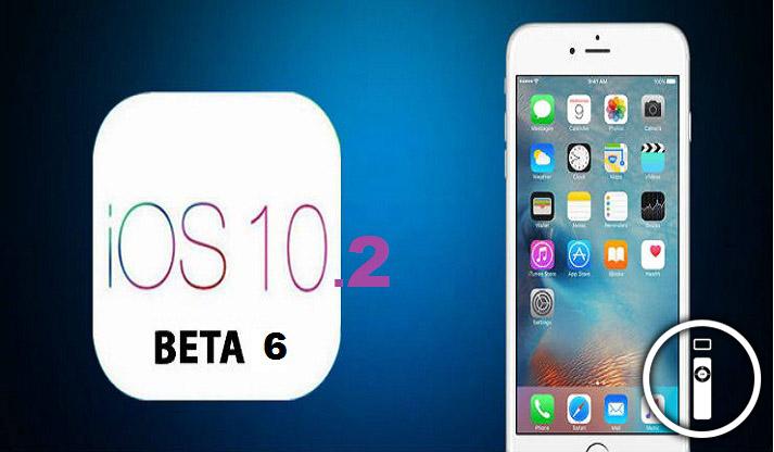 Apple ha rilasciato iOS 10.2 Beta 6
