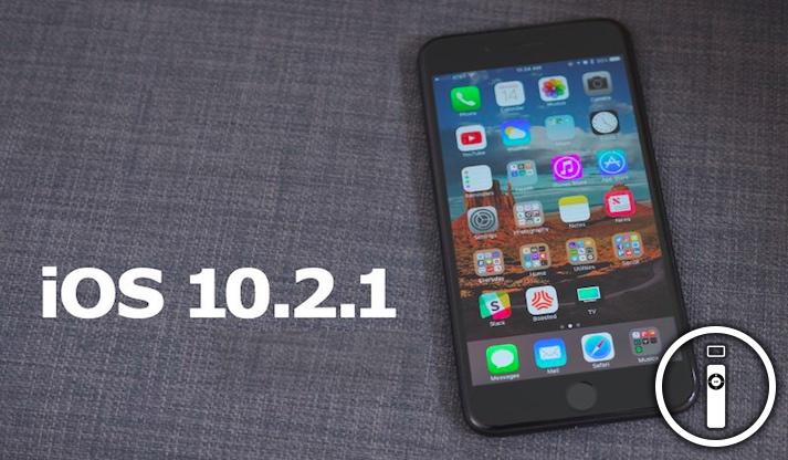 Apple rilascia iOS 10.2.1