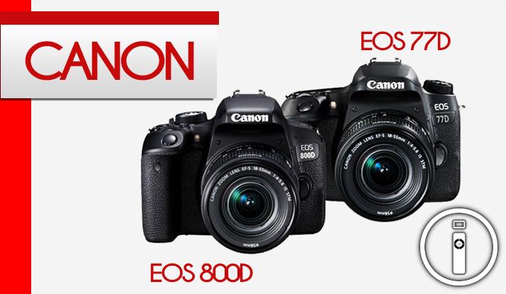 Nuove arrivate in casa Canon, EOS 77D e 800D