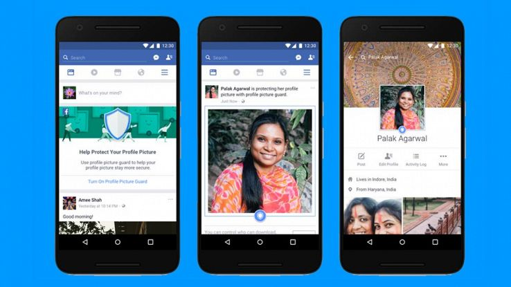 Facebook, nuovi tool per proteggere le immagini di profilo
