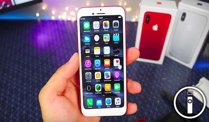 IPhone 8 con display OLED e la finitura a specchio