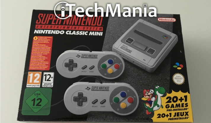 Nintendo Classic Mini SNES: unboxing e primo avvio! (foto e video)