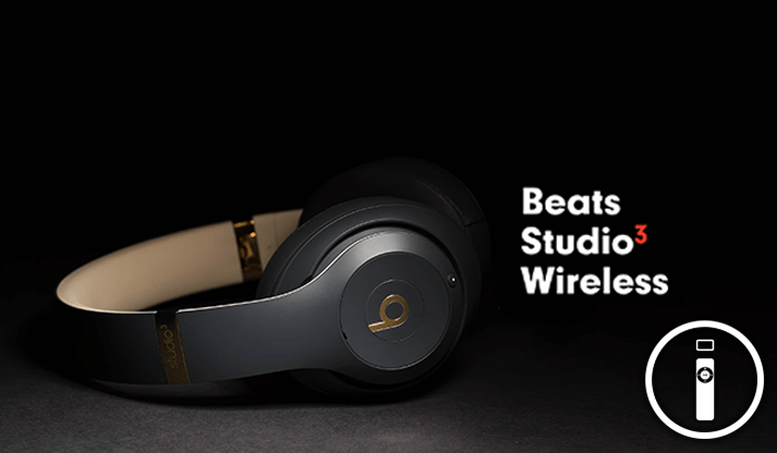 Apple Beats Studio3 Wireless con chip W1 e cancellazione del rumore adattiva