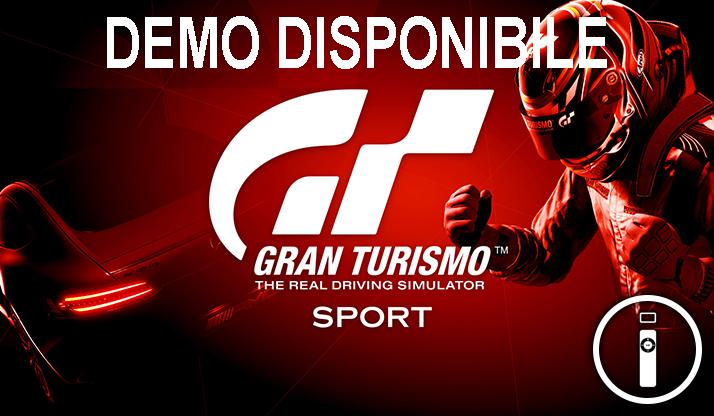 Gran Turismo Sport, la demo è disponibile