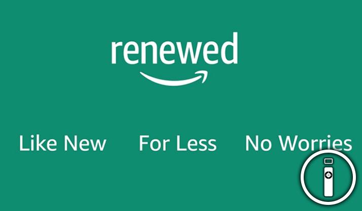 Amazon: arriva in Italia Renewed, il programma per i prodotti ricondizionati