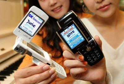 LG-SD910 Dual Slide Phone