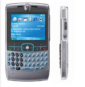 Motorola Q side front