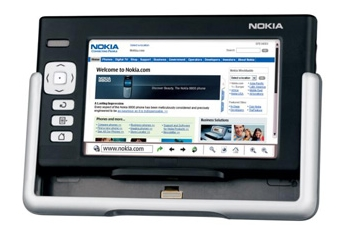 Nokia 770 Internet Tablet