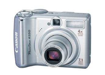 Canon PowerShot A550 Digital Camera