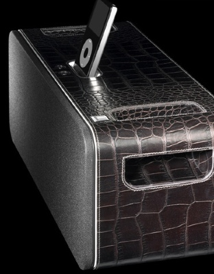 Dunhill Alligator iPod Speakers