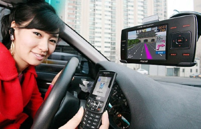 Samsung STT-D370 Bluetooth GPS Navigator