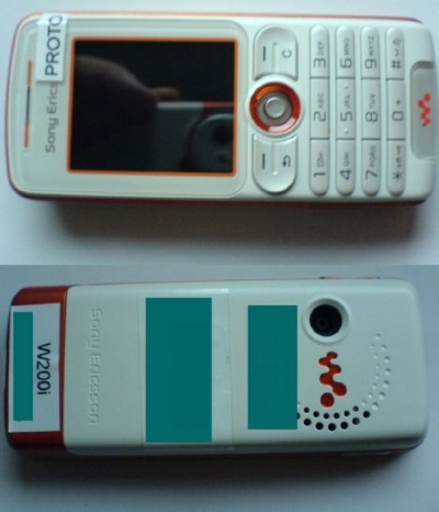 SonyEricsson W200i Walkman Phone