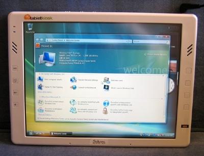 TabletKiosk Sahara i440D, i440T, i417T Tablet PCs