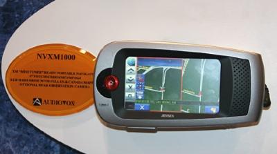 Audiovox Jensen NVXM1000 GPS