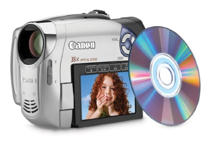 Canon DC210, DC220, DC230 DVD Camcorder