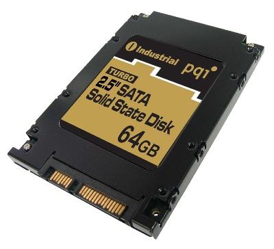 PQI 2.5-inch 64GB SATA Solid State Disk