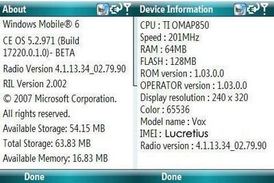 HTC S710 VOX  2