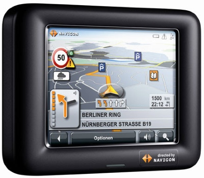 Navigon 3100, 3110 GPS devices