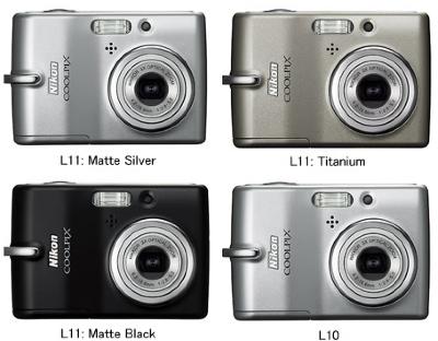 Nikon CoolPix L10/L11 Digital Cameras