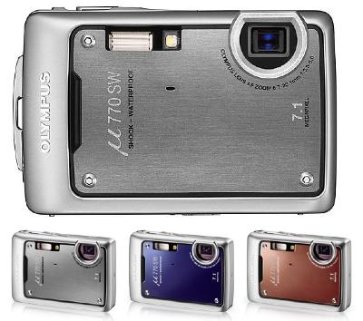 Olympus u770SW Waterproof Digital camera