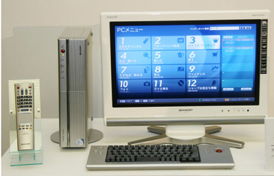 Sharp Internet AQUOS PC-AX80S, PC-AX60S