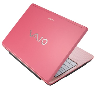 Sony VAIO VGN-C290 Pink