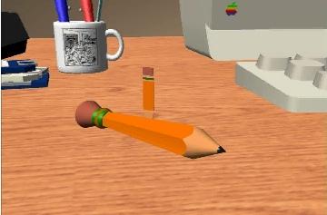 Apple MacII Pencil Test