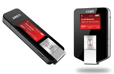 Coby MP-C896, MP-C683 Music Player