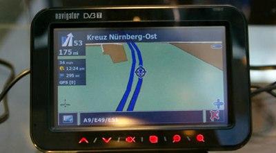 GlobalSat GV-380 GPS Navigator