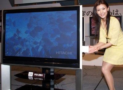 Hitachi P50-XR01, L37-XR01 HDTVs with iVDR