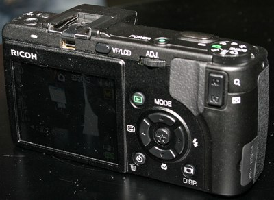 Ricoh Caplio GX100 Digital camera