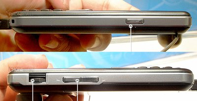 Asus M530W WM6 3G Phone