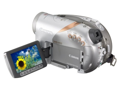 Canon iVIS HR10 Camcorder