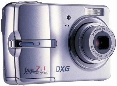 DXG DXG-711 7MP Camera