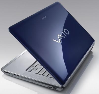 Sony VAIO CR Series Notebook